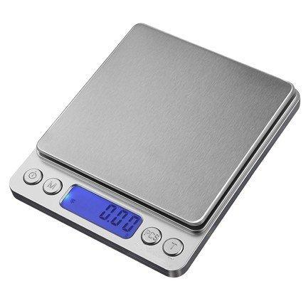 Báscula digital de cocina de 0,01 g/0,1 g para uso doméstico con balanza de pesaje de alimentos: Amazon.es: Hogar