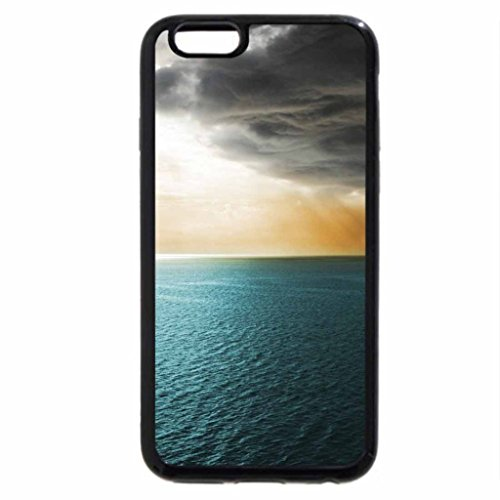 iPhone 6S / iPhone 6 Case (Black) storm crossing the ocean