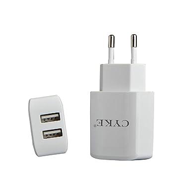 2Pack USB Cargador de Viaje con 2 Puertos Cargador Movil ...