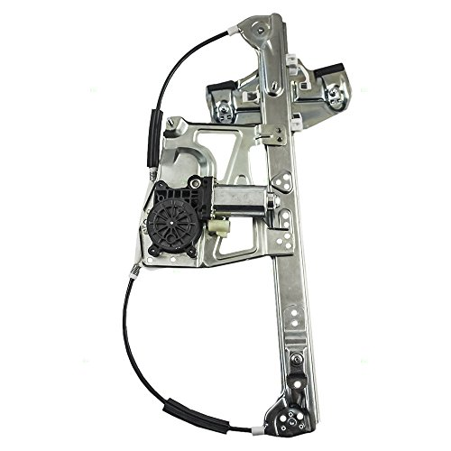 Passengers Front Power Window Lift Regulator with Motor Assembly Replacement for Cadillac 17801303