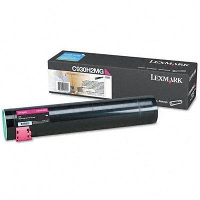 - LEXMARK MAGENTA TONER CARTRIDGE FOR C930H2MG - LEXC930H2MG