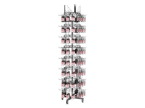 Fixture Displays Fixture Displays Key-chain Souvenior Rack Wire Display Mobile Stand15394 15394 by FixtureDisplays