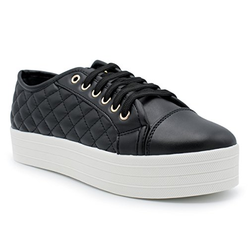 cheap Breckelle's - Women's Soft Quilted Fashion Sneaker hot sale