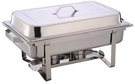 Chafing Dish Speisenwärmer Warmhaltebehälter GN-Behälter 65mm Deckel Edelstahl