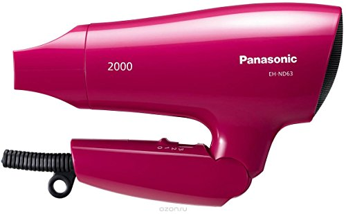 Panasonic EH-ND63-P 2000-Watt Hair Dryer With Powerful Airflow, 220 Volts (Not for USA)