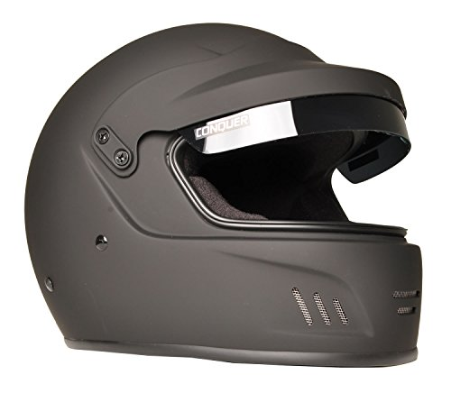 Pyrotect Face Helmet - Conquer Full Face Rally Racing Helmet Snell SA2015 FF RALLY