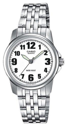 CASIO LTP1260D7BEF - Reloj de Mujer de Cuarzo, Correa de Acero Inoxidable Color: Amazon.es: Relojes