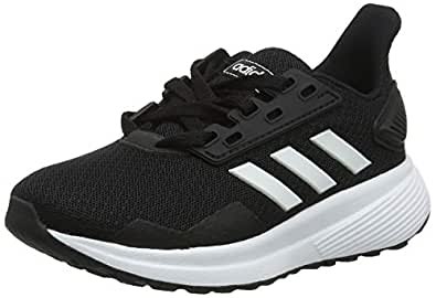 adidas Boys Duramo 9 Trainers, Core Black/Footwear White/Core Black, 3.5 US