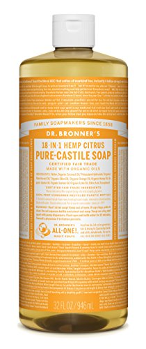 Dr Bronner Orange Soap (Dr. Bronner's Organic Pure Castile Liquid Soap, Citrus Oil, 32 oz)