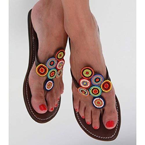 08c04d3968ff Amazon.com  GlobalHandmade Handmade Reef sandy sandals for women ...