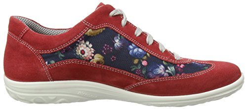 Blau Allegra Oxford de Multicolor Scarlet Cordones Zapatos Jomos Mujer 7xqgv8g