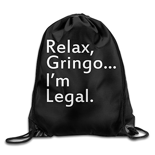 MYKKI Relax, Gringo... I'm Legal - Funny Mexican, Latino, Spanish Immigrant Cool Port Bag
