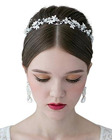 Haarschmuck Hochzeit Braut Haarschmuck B-ware Kopfschmuck Stirnband Perle Haargesteck Kleidung & Accessoires