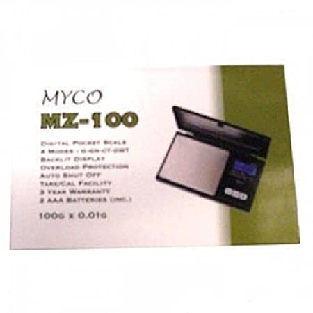 DIGITAL POCKET SCALES 100G X 0.01 G MYCO UK SELLERS