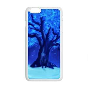 """Andre-case Blue crystal tree cell phone case cover for iPhone 6 wj8Z5V4F9OW Plus """""""