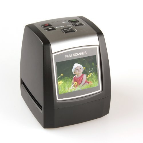 Scanner for 35mm Film and Slides - Convert Film Negatives and Photo Slides to Digital JPG Files by Emperor of Gadgets