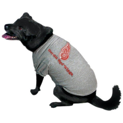 NHL Detroit Red Wings Pet T-Shirt, Team Color, Small