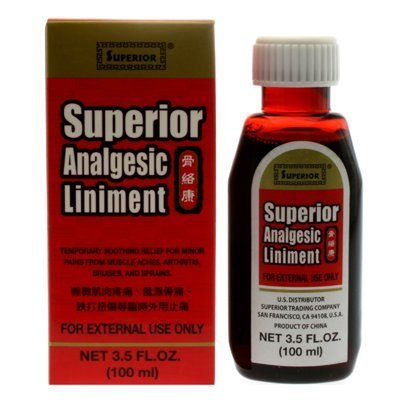 Superior Trading Co. Superior Analgesic Liniment by Superior Trading Company (Zheng Liniment Shui Gu)