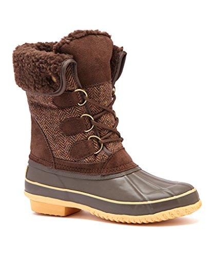 Arctic Plunge Femmes Riza Boot Marron