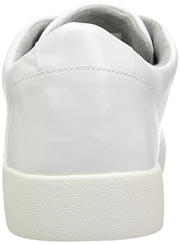 Sneaker In Pelle Bianca Nove Delle Donne Dellovest