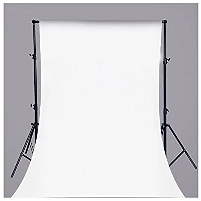 MOST POPULAR Absolutely Necessary in Photo Studio Collapsible Pure White Vinyl Backdrop Background For Photography, Video and Television 5x7ft