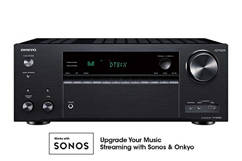 New Onkyo TX-NR686 7.2 Channel THX Certified Network A/V Receiver Black
