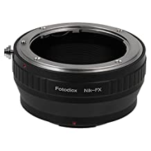 Fotodiox Lens Mount Adapter, Nikon F Lens to Fujifilm X-Series Mirrorless Cameras such as X-Pro1, X-E1, X-M1, X-A1 and X-E2