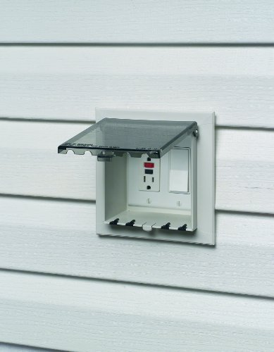 Arlington Dbvs2c 1 Outdoor Electrical Box With Weatherproof Cover For Vinyl Sidi Ebay