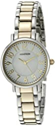 Armitron Women's 75/5345MPTT Easy To Read Dial Two-Tone Bracelet Watch