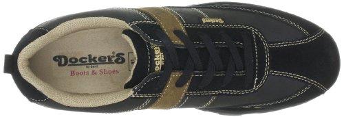 Dockers by Gerli 312510-350335 Herren Casual Schnürer Schwarz (Schwarz/Stone)