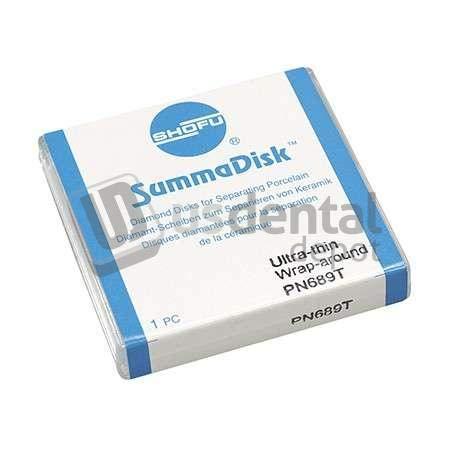 SHOFU - Unmounted Summadisk Wrap Around Length .25mm x 19mm 1pk -(#0690) 111754