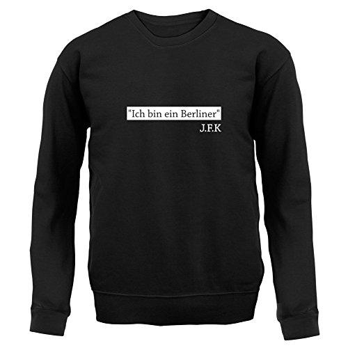 Dressdown Ich Bin EIN Berliner - Unisex Sweater/Jumper-Black-Medium