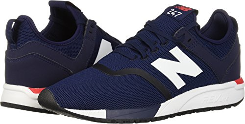 New Balance Men's 247d1 Sneaker, Pigment/Cerise, 11.5 D US by New Balance