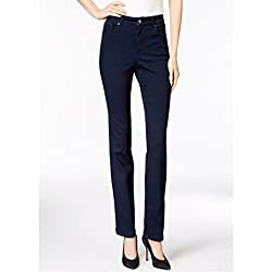 Charter Club Lexington Straight Leg Jeans, Embellished Pocket, Rinse Wash 4