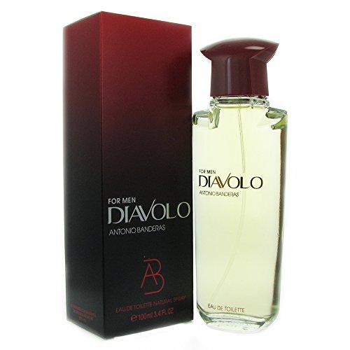 Diavolo By Antonio Banderas For Men Eau De Toilette Spray 3.4 Oz.