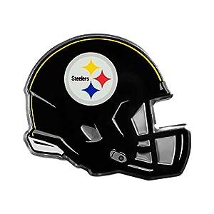 NFL Pittsburgh Steelers Helmet Emblem, Yellow, Standard from SteelerMania
