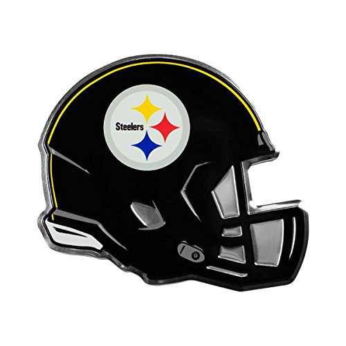 NFL Pittsburgh Steelers Helmet Emblem, Yellow, Standard from SteelerMania