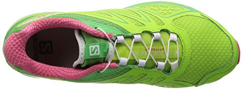 Pink X Wasabi Green Shoe 3D US Firefly Salomon Women's Scream Hot Running 10 a64Bx4vqw