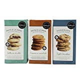 Cookie It Up Handmade Shortbread Cookie's 3 Pack | Biscuits, Snacks | Chocolate Shortbread | Salted Caramel Crunch | Triple Chocolate