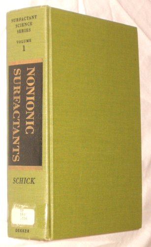 Nonionic Surfactants (Surfactant Science)