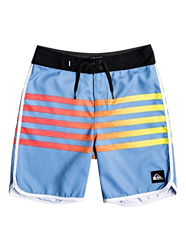 (Quiksilver Boys Everyday Grass Roots Youth 17 Boardshort Swim Trunk, Blue Yonder, 24/8 )