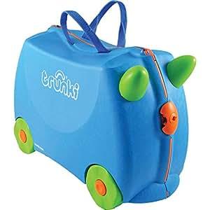Trunki Terrance Ride On Suitcase, Blue [TI0054-GB01]