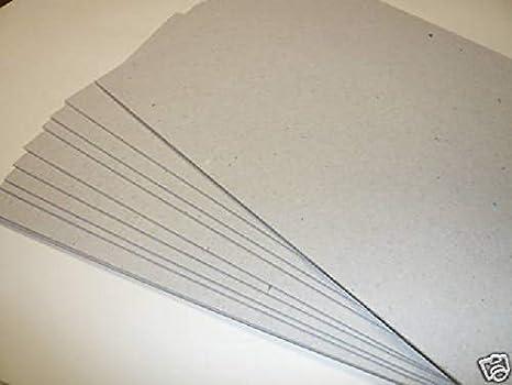 100 tarjetas de cartón reciclado, tamaño A3, 1000 micras, 1 ...