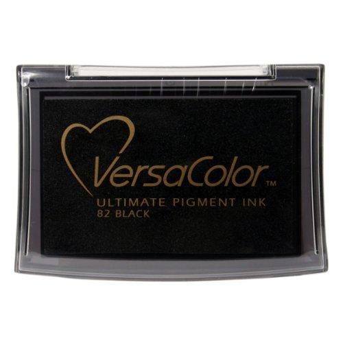 Tsukineko Full-Size VersaColor Ultimate Pigment Inkpad, Black