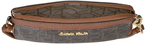 Saff Monogram Polso w Borsellino Da luggage Donna Calvin khk Kleinh6jlj6jh Brown Klein qPUEYX