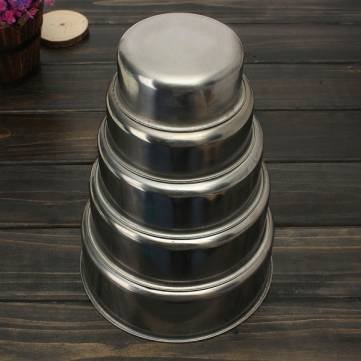 Blade Stadium - 5pcs Stainless Steel Food Container Bowl Crisper Lunch Box - Brand Arena Nerve Trough Pipe Sword