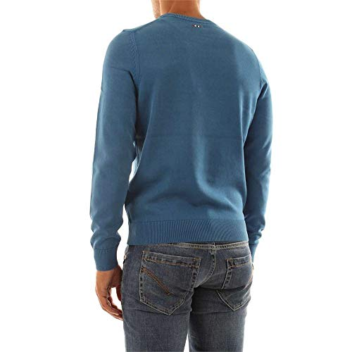 N0YH2T Blue Camiseta Napapijri DROZ Hombre PxOqqU8