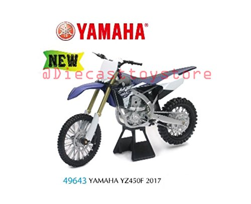 NEW TOYS CAR NEWRAY 1:6 MOTORCYCLES - YAMAHA YZ450F for sale  Delivered anywhere in USA