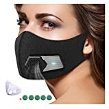 95N Dust Mask,Dust Filter Mask Air Smart Mask for Outdoor Activities, Travel, Gardening, Ash, Bacteria, Pm2.5 for Men and Women