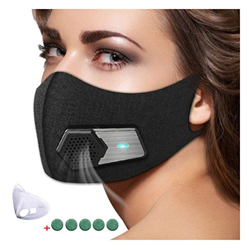 95N Dust Mask,Dust Filter Mask Air Smart Mask for Outdoor Activities, Travel, Gardening, Ash, Bacteria, Pm2.5 for Men and Women by WXH meet (Image #8)